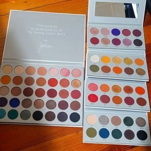 Jackyn Hill x Morphe 1st palette and Vault